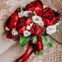 Букет невесты Анастасии