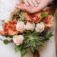 Супер пупер букет нашей невесты в прошлом сезоне