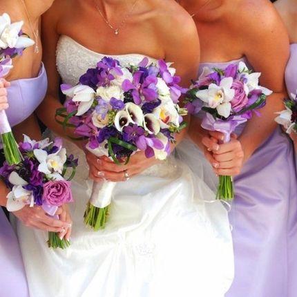 """Букет невесты """"Лизианна"""""""