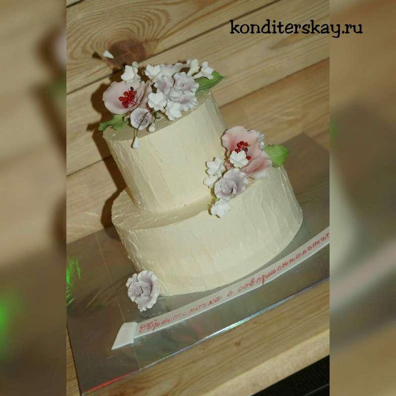Фото 10959718 в коллекции Свадебные - Свадебные торты Iriska