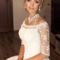 Нежная невеста Юлечка Макияж и прическа для Юлечки: Юнна Охтырко