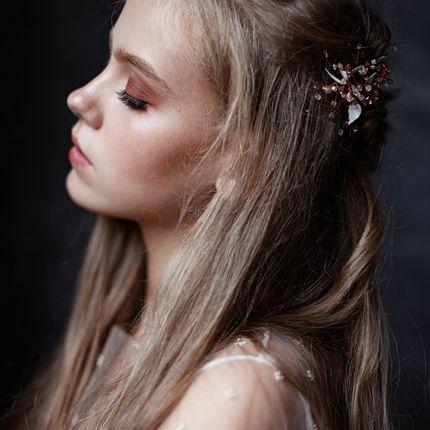 Причёска и макияж для невесты