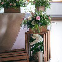 Свадебные аксессуары в стиле рустик