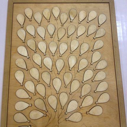 Дерево для пожеланий-картина