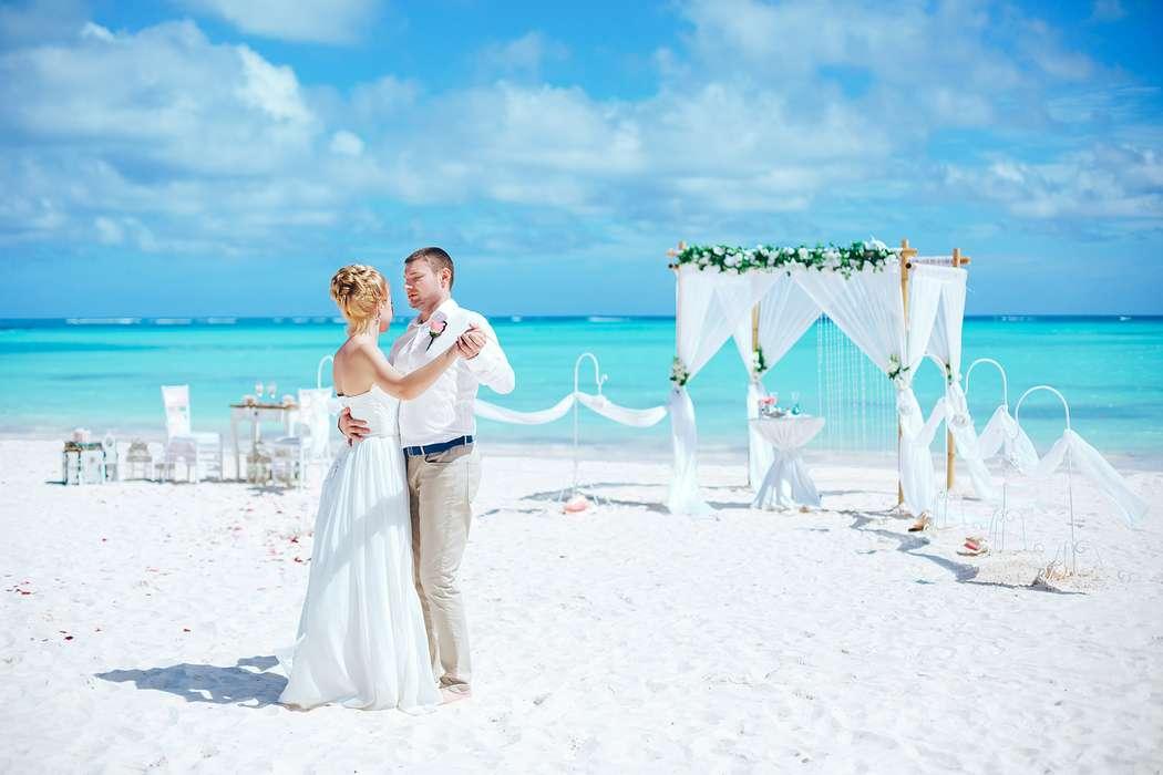 Фото 14493434 в коллекции Официальная свадьба в Доминикане на пляже Juanillo в Кап Кане {Сергей и Кристина} - Caribbean Wedding - свадьба в Доминикане