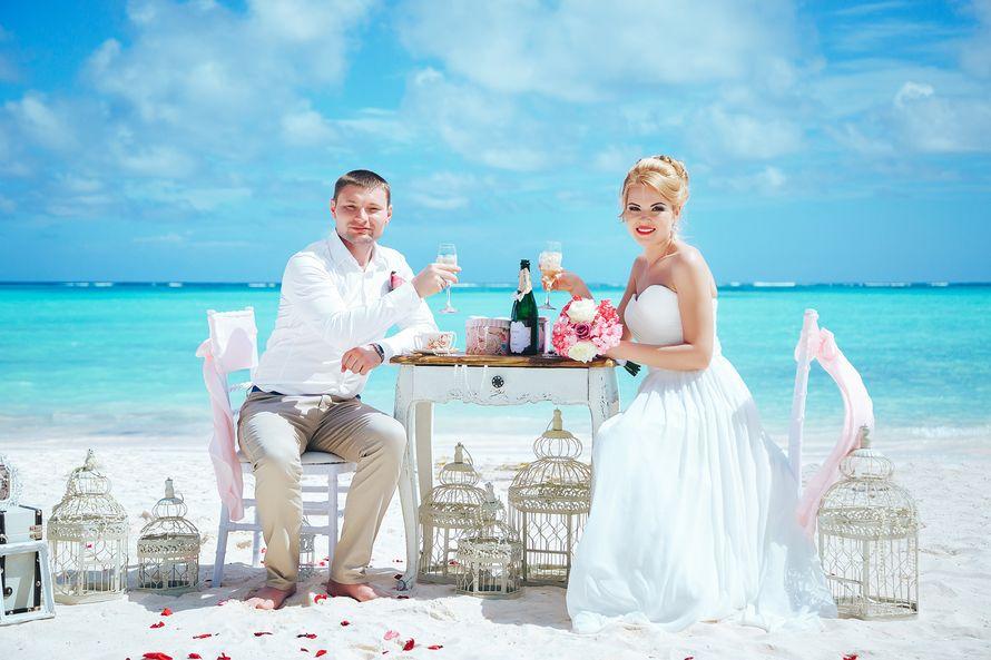 Фото 14493440 в коллекции Официальная свадьба в Доминикане на пляже Juanillo в Кап Кане {Сергей и Кристина} - Caribbean Wedding - свадьба в Доминикане