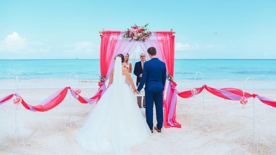 Фото 14544294 в коллекции Официальная свадьба в Доминикане, на пляже Juanillo {Дэвид и Мартина} - Caribbean Wedding - свадьба в Доминикане