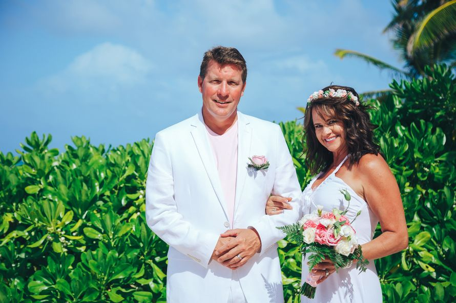 Фото 14982268 в коллекции Обновление клятв - 20 лет совместной жизни {Лаура и Патрик} - Caribbean Wedding - свадьба в Доминикане