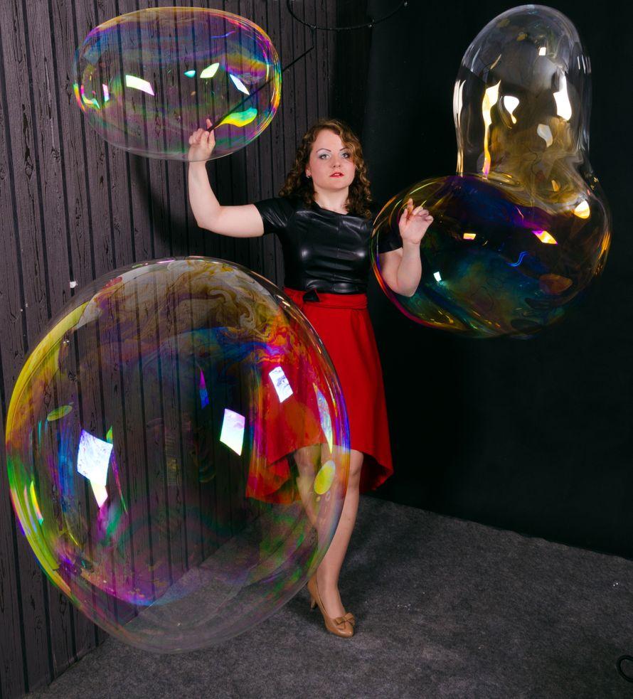 Фото 11100258 в коллекции Шоу для Вашего торжества - Шоу мыльных пузырей Евгении Коростелевой