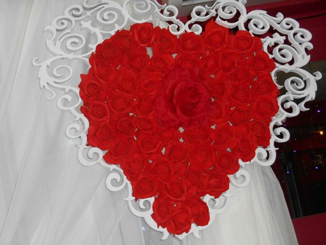 Фото 11100910 в коллекции красно-шампань - Воздушный бум - флористика и декор
