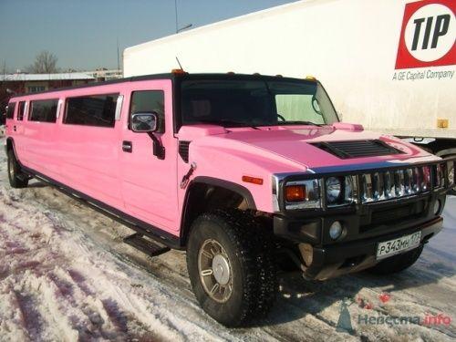 Хаммер лимузин Розовый - фото 9046 Авто-Делюкс - прокат авто