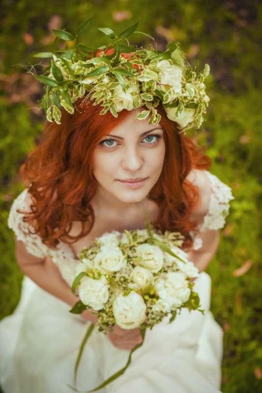 Рыжие букеты для невесты фото 2016, магазин