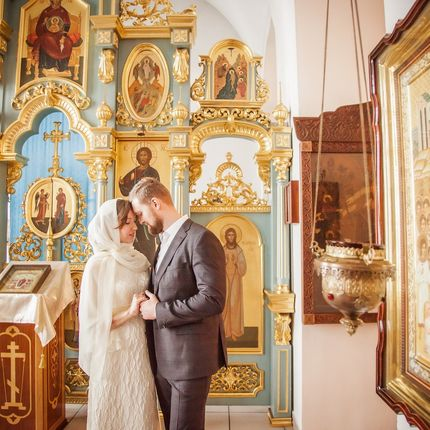 Фотосъёмка венчания, 1,5-2 часа