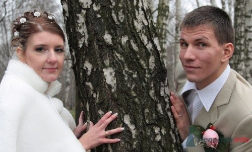 Фото 9824 в коллекции Зимняя свадьба Петра и Натальи