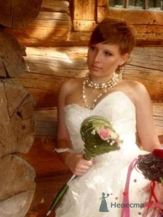 Свадебный букет-жезл