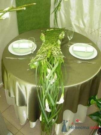 Флористическое оформление столика для двоих - фото 1118 Флорист-дизайнер Елена
