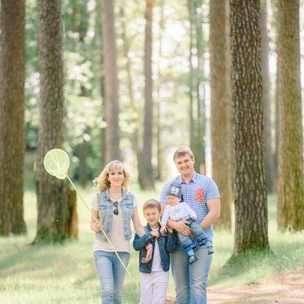 Семейная и детская фотосессия