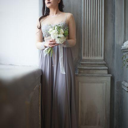 Grey свадебное/вечернее платье