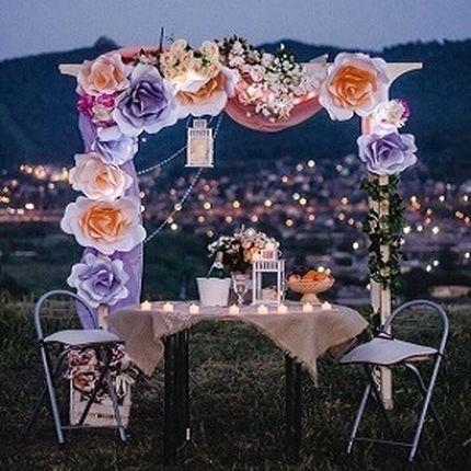 Романтический ужин на природе для двоих