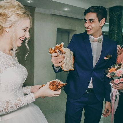 Проведение свадебных банкетов