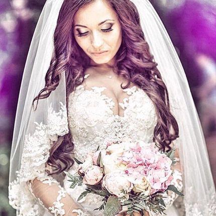 Прическа и макияж невесты