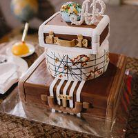 Торт на тему путешествий от Свит Бисквит