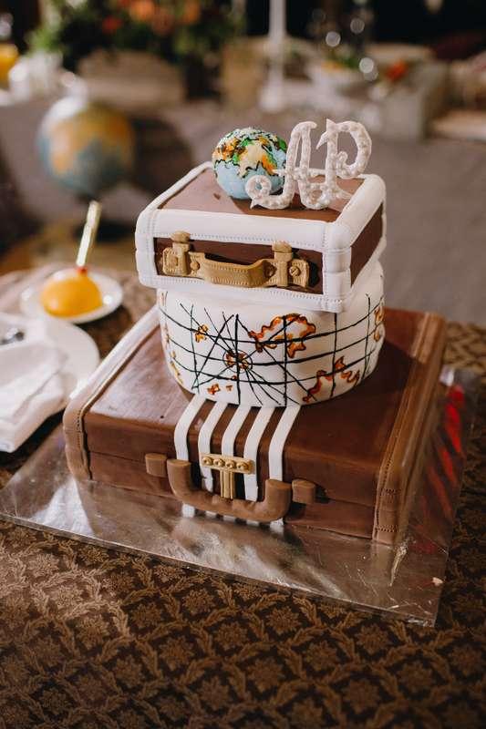 Торт на тему путешествий от Свит Бисквит - фото 12904510 Кондитерская Свит Бисквит