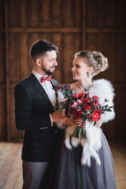 "Фото 16606622 в коллекции Love Story Ани и Антона ""Загадочная Шотландия"" - Мастерская флористики и декора Blooming Twig"