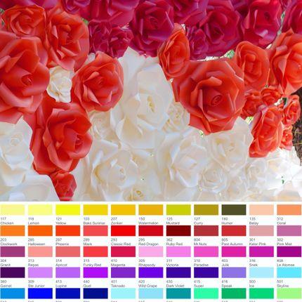 Оформление фотозону цветами