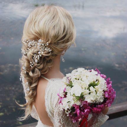 Свадебная причёска + репетиция