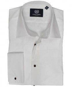 Белая вечерняя мужская сорочка Gagliardi