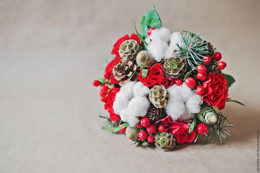 """Фото 11541232 в коллекции Букеты и композиции по любому поводу - Студия декора и флористики """"Magnolia flowers"""""""