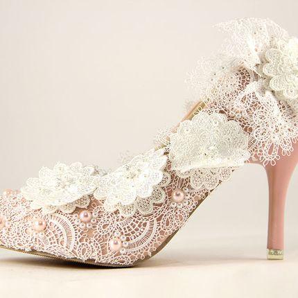 """Свадебные и вечерние туфли - модель """"Нежность"""""""