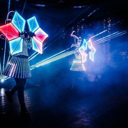 Световое лазерно - пиксельное Фрэнки шоу