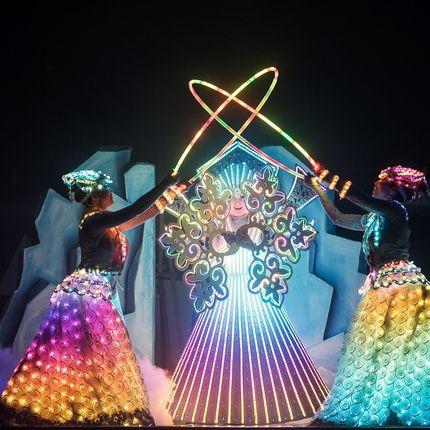 Световое лазерно - пиксельное шоу Пробуждение