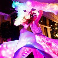 Световое танцевально-пиксельное шоу Сияние