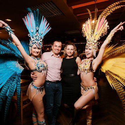 Шоу-балет Exotic Art - 2 номера, 2 девушки