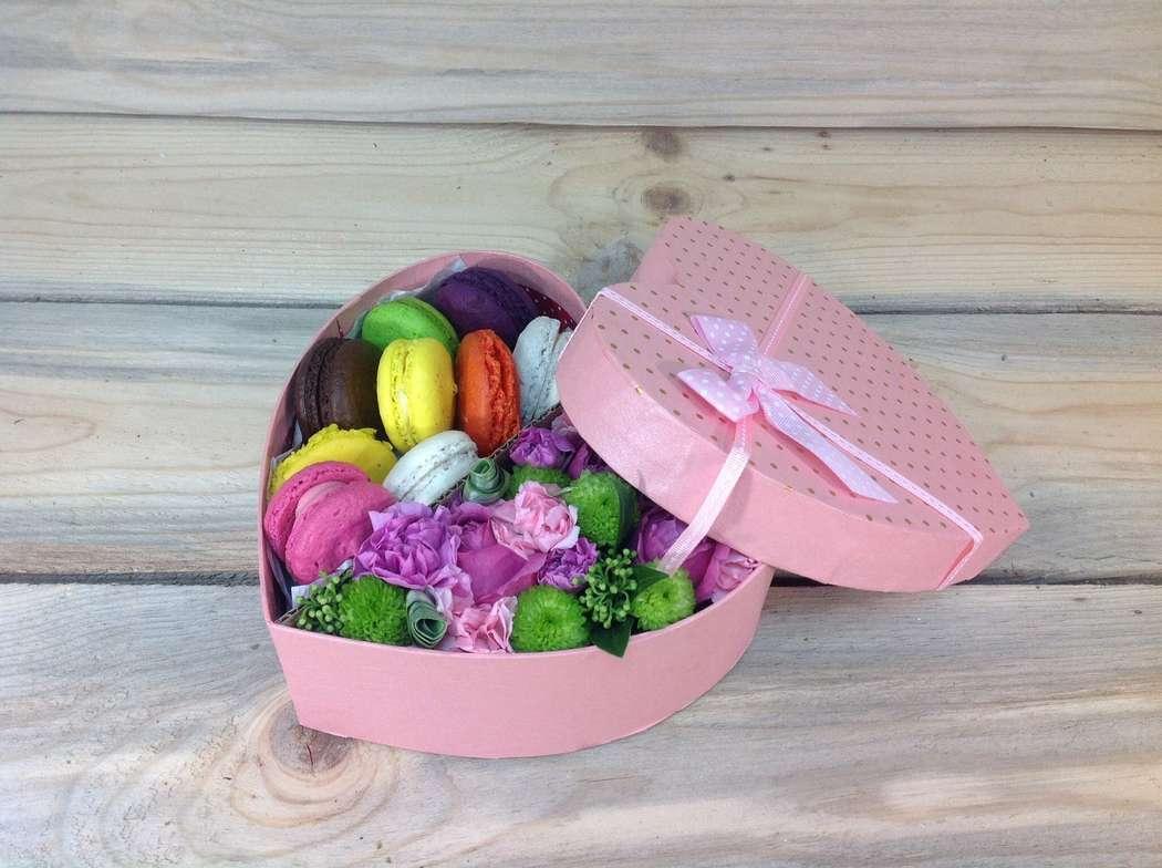 Цветы в коробке: как букет, только лучше Мастер-класс - Oselya
