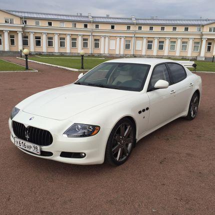 Аренда Maserati Qattroporte GTS