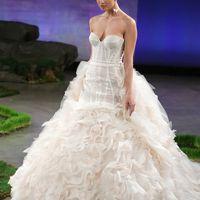 Свадебное платье коллекции 2017 Прозрачный корсет-элегантные образы