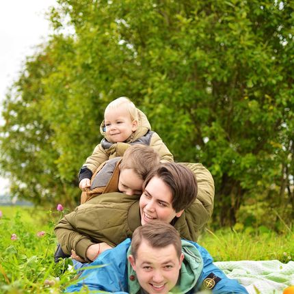 Семейная фотосъёмка 1,5-2 часа