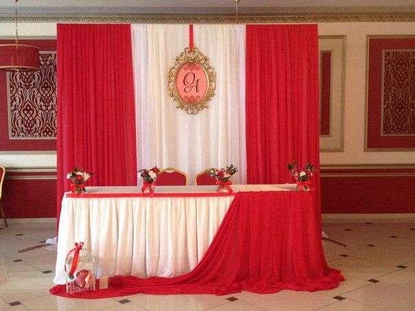 """Фото 17776648 в коллекции Свадьба в красном. Примеры - """"Волшебный мир"""" - студия оформления свадеб"""