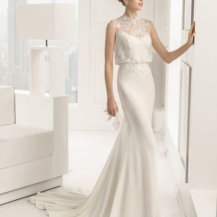 Свадебное платье Sabrina от Rosa Clará.