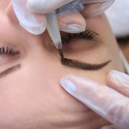 Перманентный макияж (пудровй эффект)