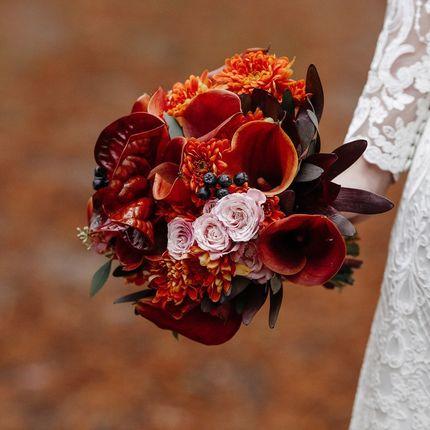 Букет невесты в заданной стилистике