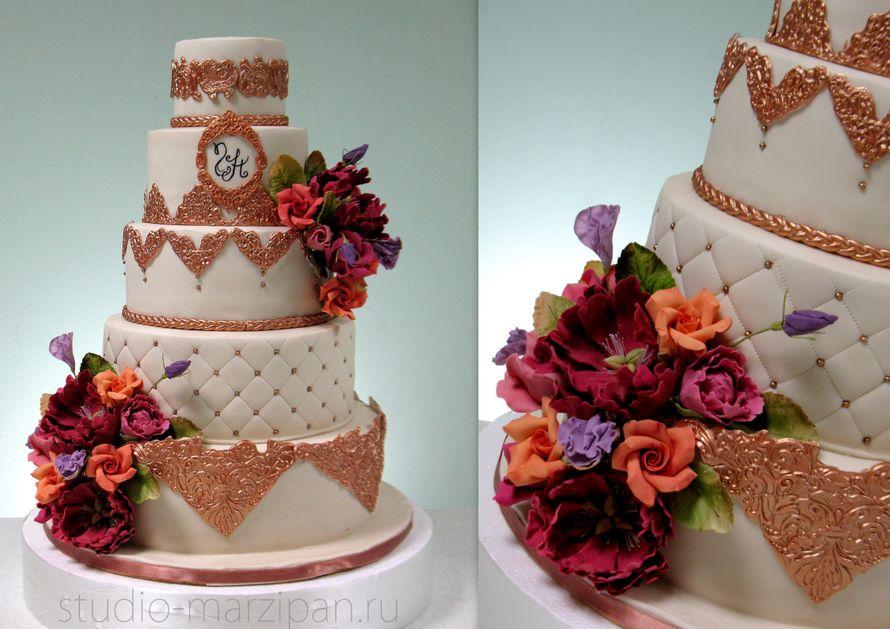 Марципан фото с тортами