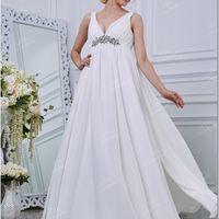 Платье  с  завышенной  талией  в  греческом стиле.