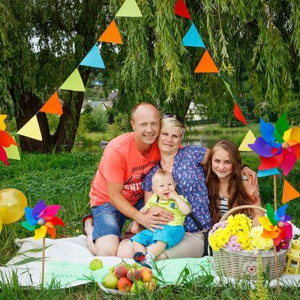 Семейное фото, 1 час