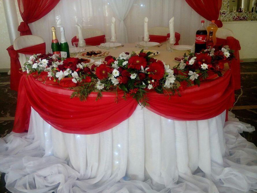 """Фото 12015624 в коллекции свадьба в красном цвете кафе """"Алые паруса"""" - Евгения Красавина - оформление и декор"""