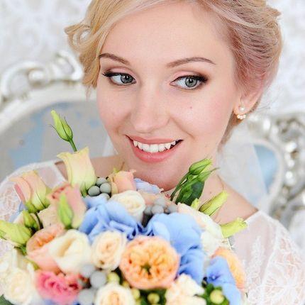 Образ невесты, макияж и причёска